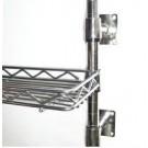 PM-NC-300-1000 - PharmaMesh Nickel/Chrome Wire Wall Shelves