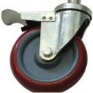 PM-SS-CAS-01 - PharmaMesh Stainless Steel Castor Set